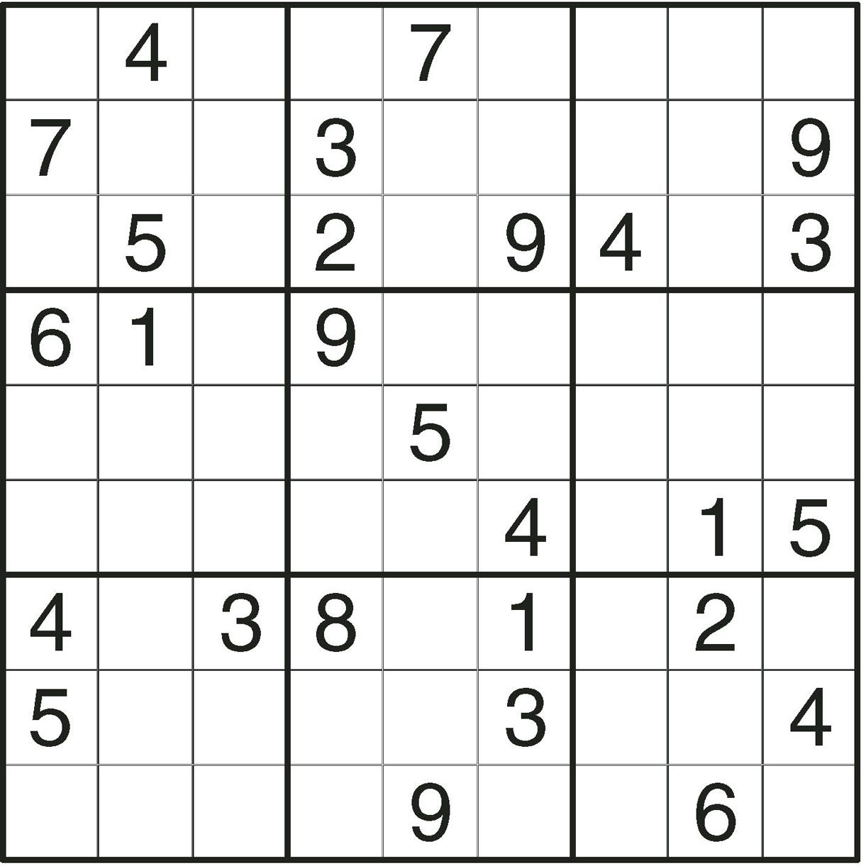 Sudoku En Ligne pour Grille Sudoku Gratuite À Imprimer
