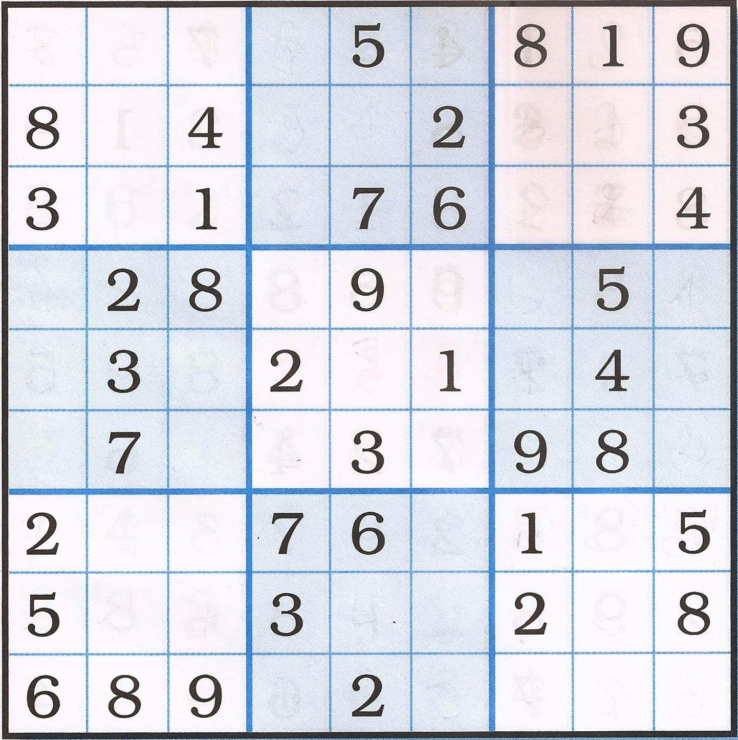 Sudoku – Facile – Le Veni, Vidi, Vinci avec Sudoku Facile Avec Solution