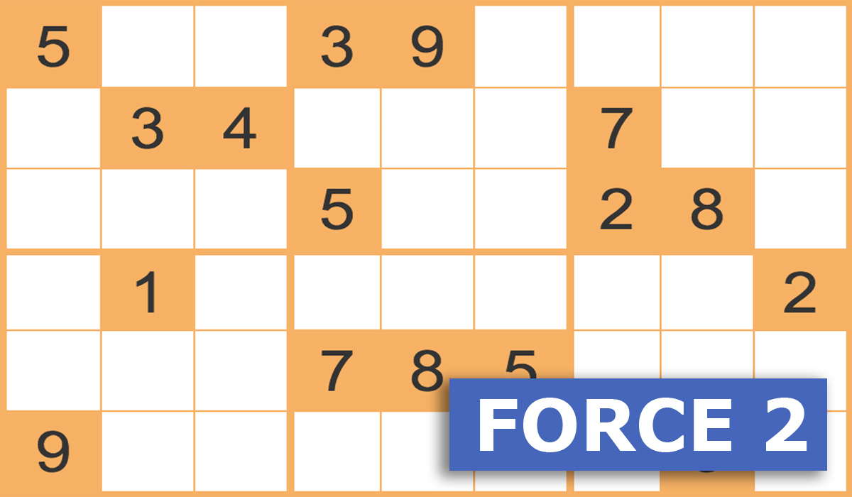 Sudoku Force 2 Gratuits En Ligne - Grilles Sudoku Force 2 intérieur Jeux Sudoku À Imprimer