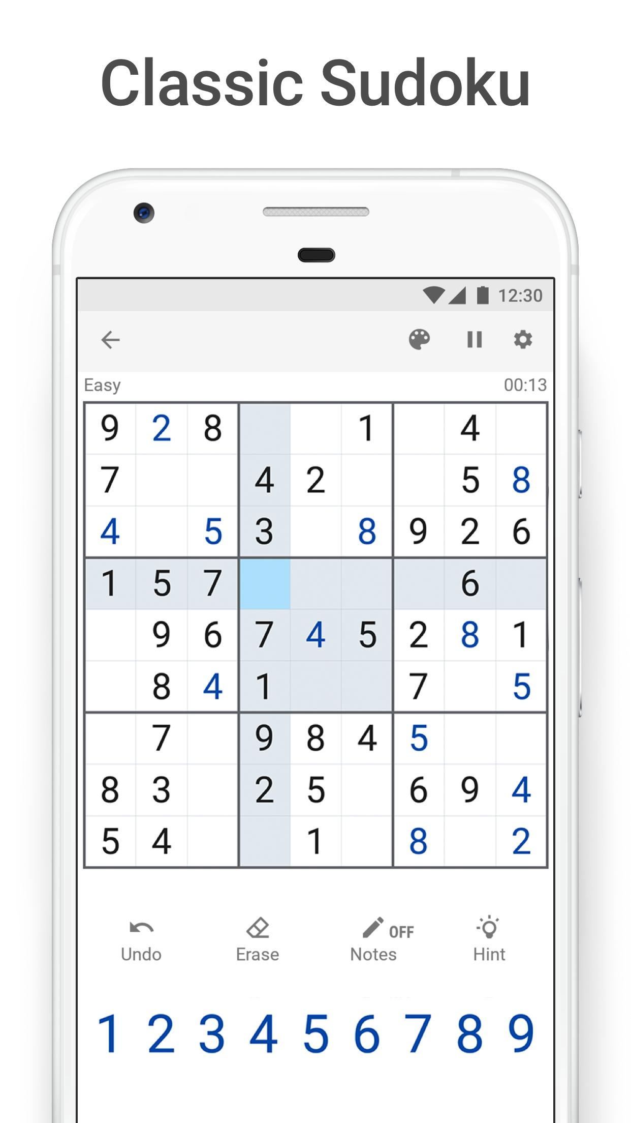 Sudoku - Free Sudoku Puzzles For Android - Apk Download concernant Telecharger Sudoku