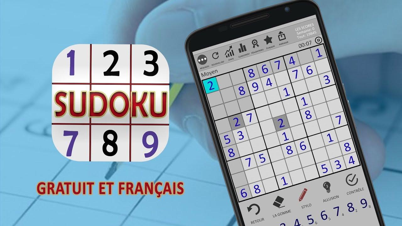 Sudoku - Gratuit Et Français pour Sudoku Gratuit Francais