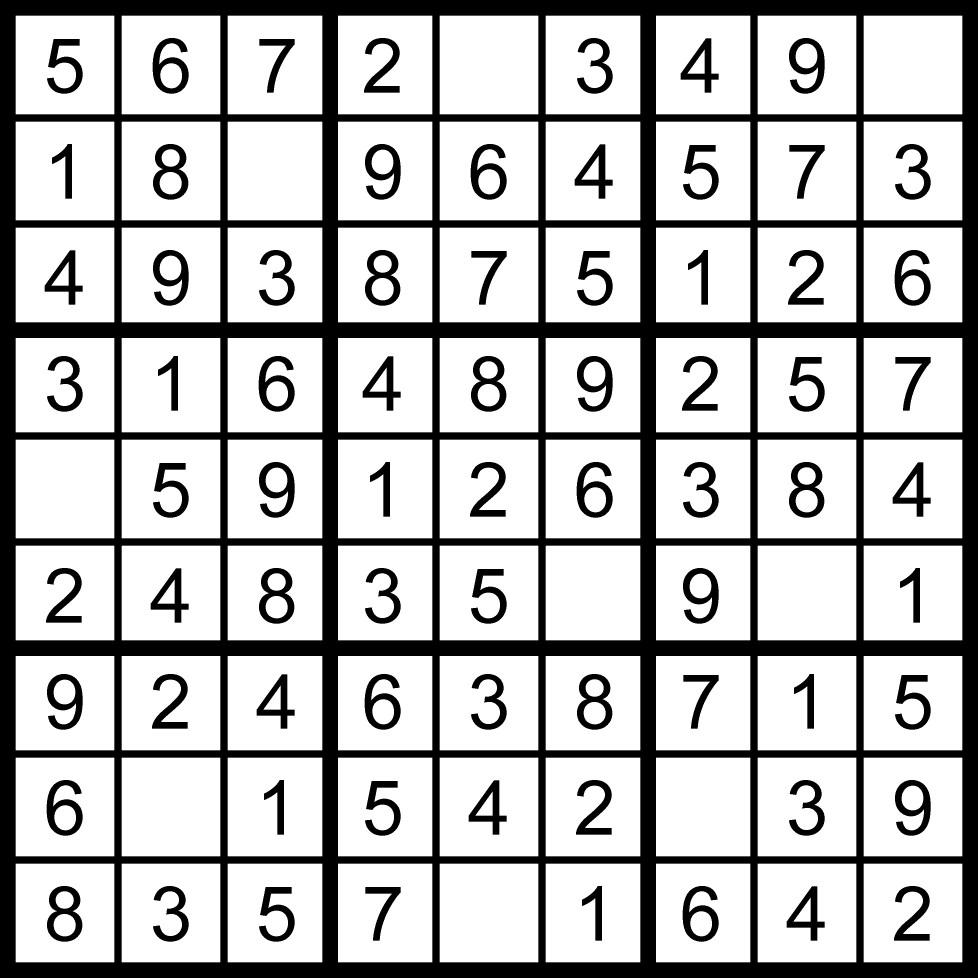 Sudoku, Je Me Détends En Jouant En Ligne à Jeux Sudoku À Imprimer