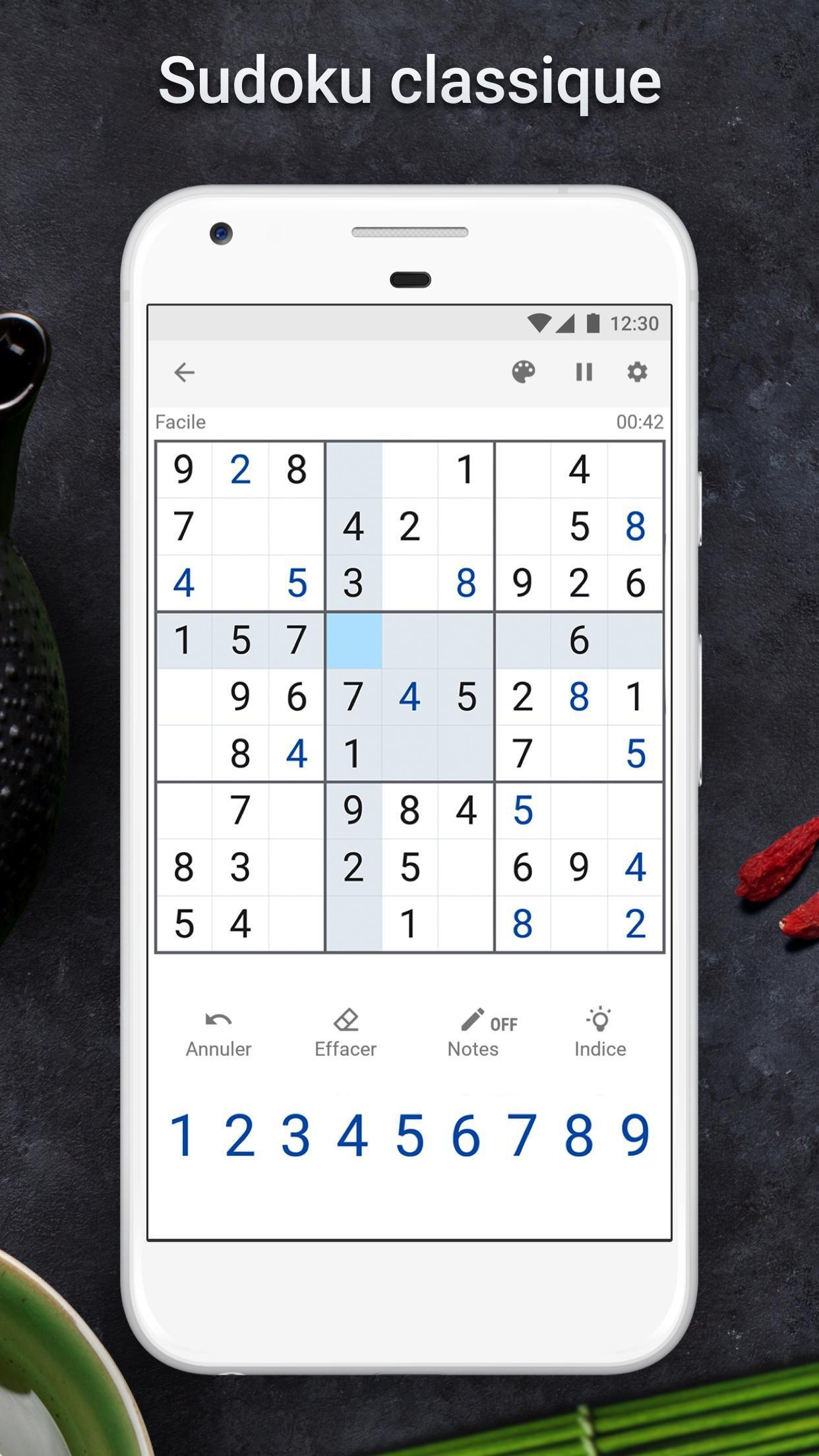 Sudoku - Jeu De Sudoku Gratuit Pour Android dedans Sudoku Gratuit En Ligne Facile