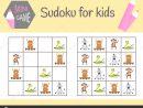 Sudoku Jeu Pour Les Enfants Avec Des Images Et Des Animaux dedans Telecharger Sudoku