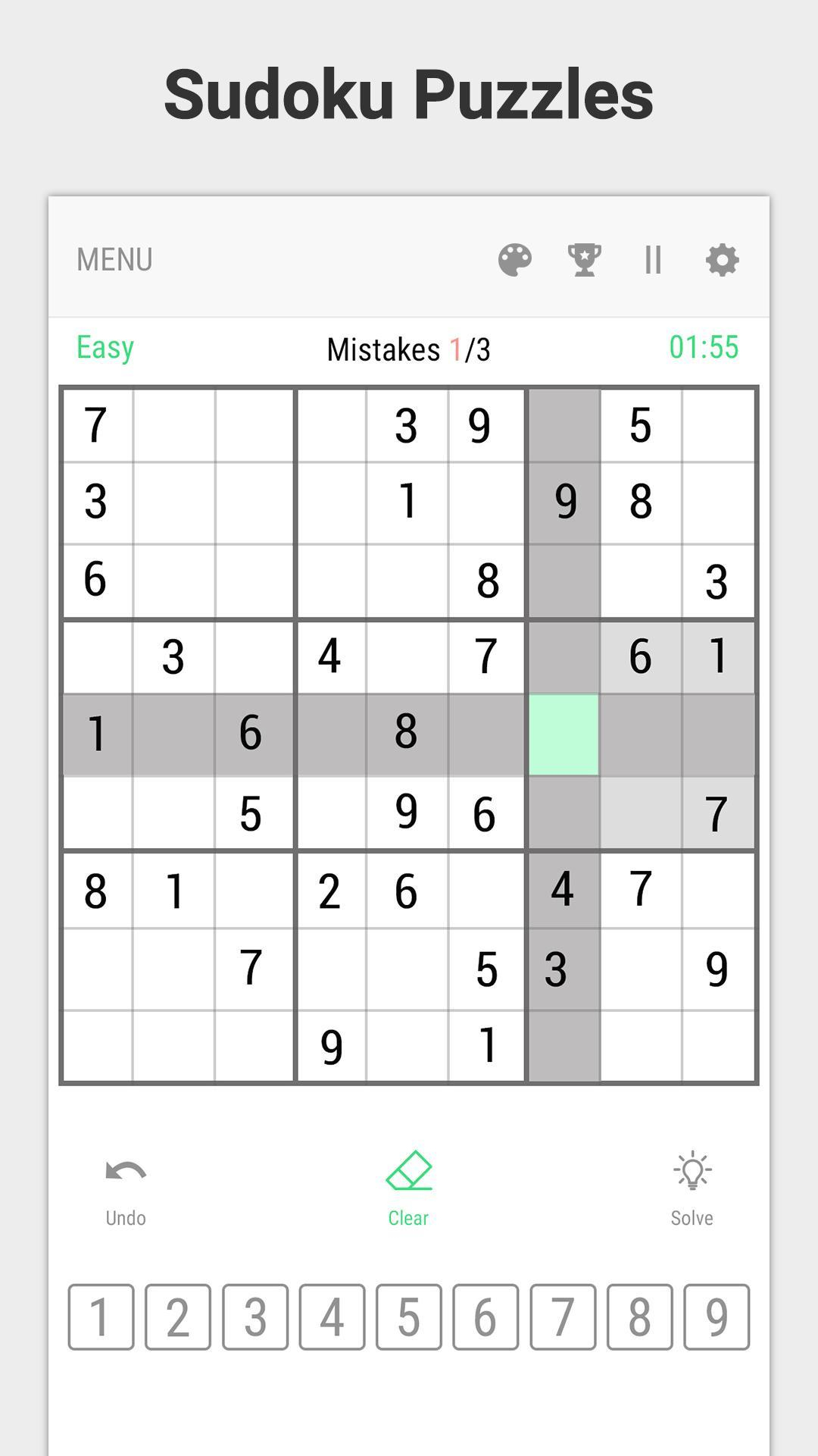 Sudoku Puzzles – Fun & Free Brain With All Level Pour encequiconcerne Telecharger Sudoku