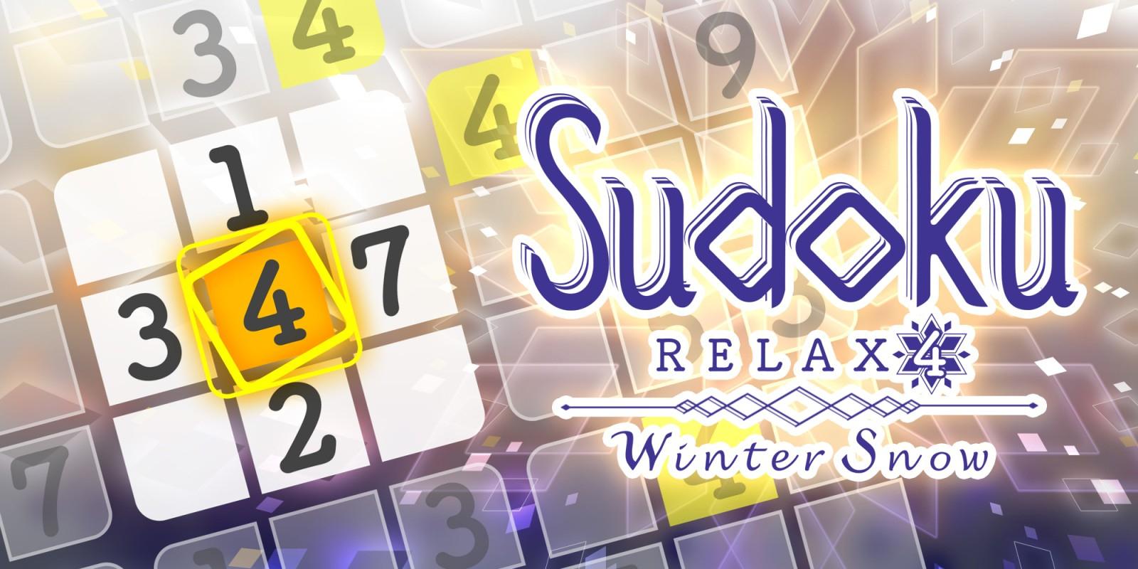 Sudoku Relax 4 Winter Snow | Jeux À Télécharger Sur Nintendo concernant Telecharger Sudoku