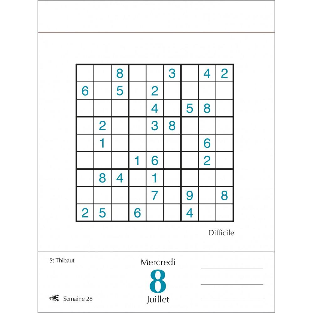 Sudoku - Sudokus Moyens tout Jeux Sudoku À Imprimer