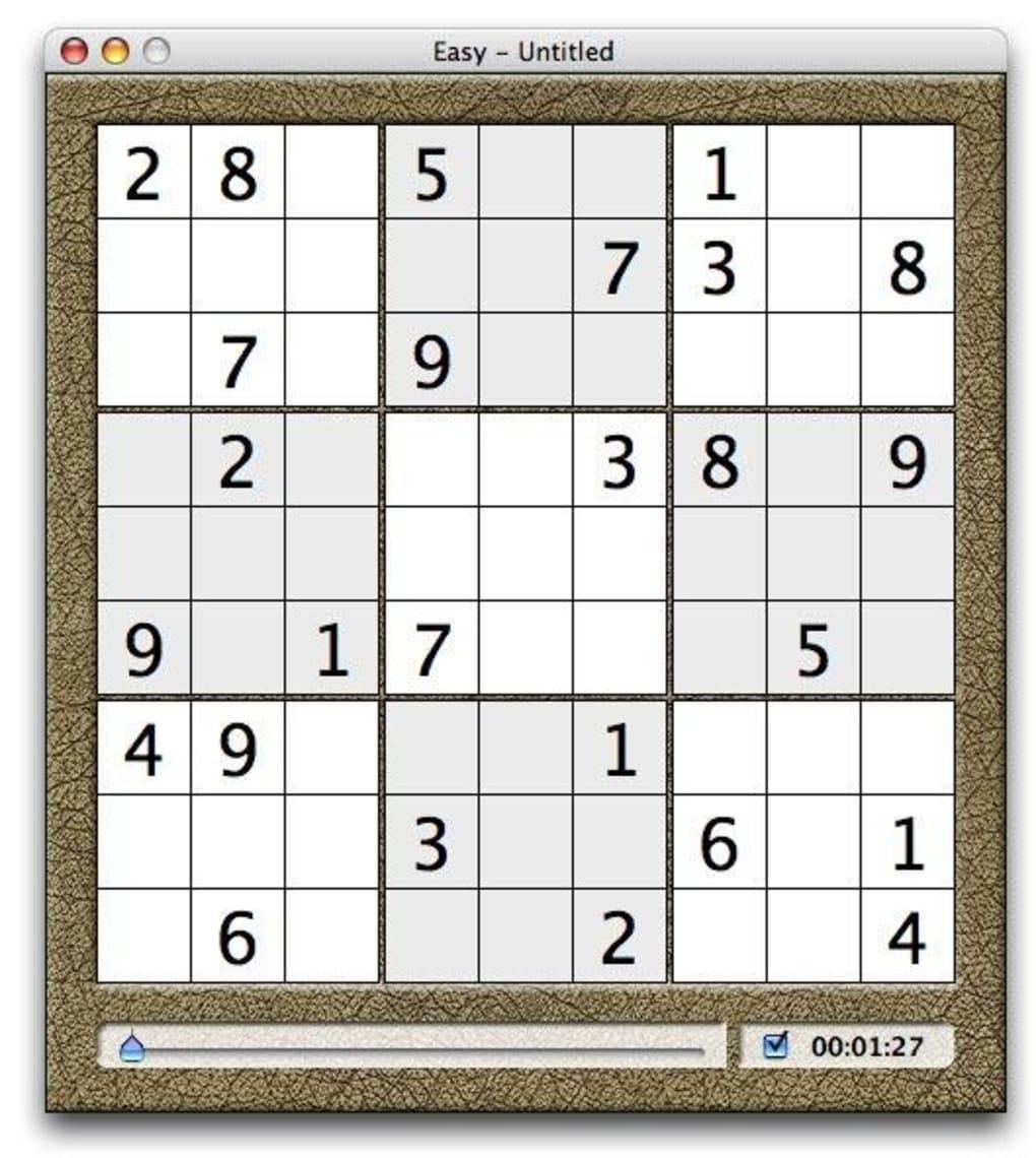 Sudokuadept Pour Mac - Télécharger avec Logiciel Sudoku Gratuit