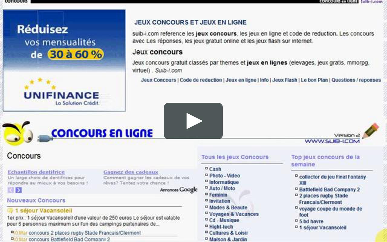 Suib-I Jeux Et Concours pour Jeux Flash A 2