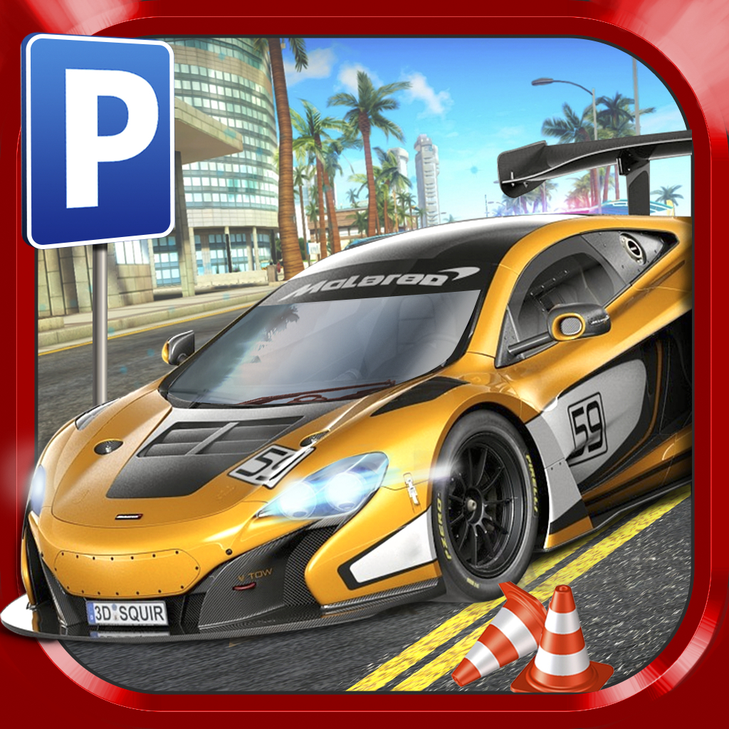 Super Sports Car Parking Simulator - Gratuit Jeux De Voiture intérieur Jeux De Super Voiture