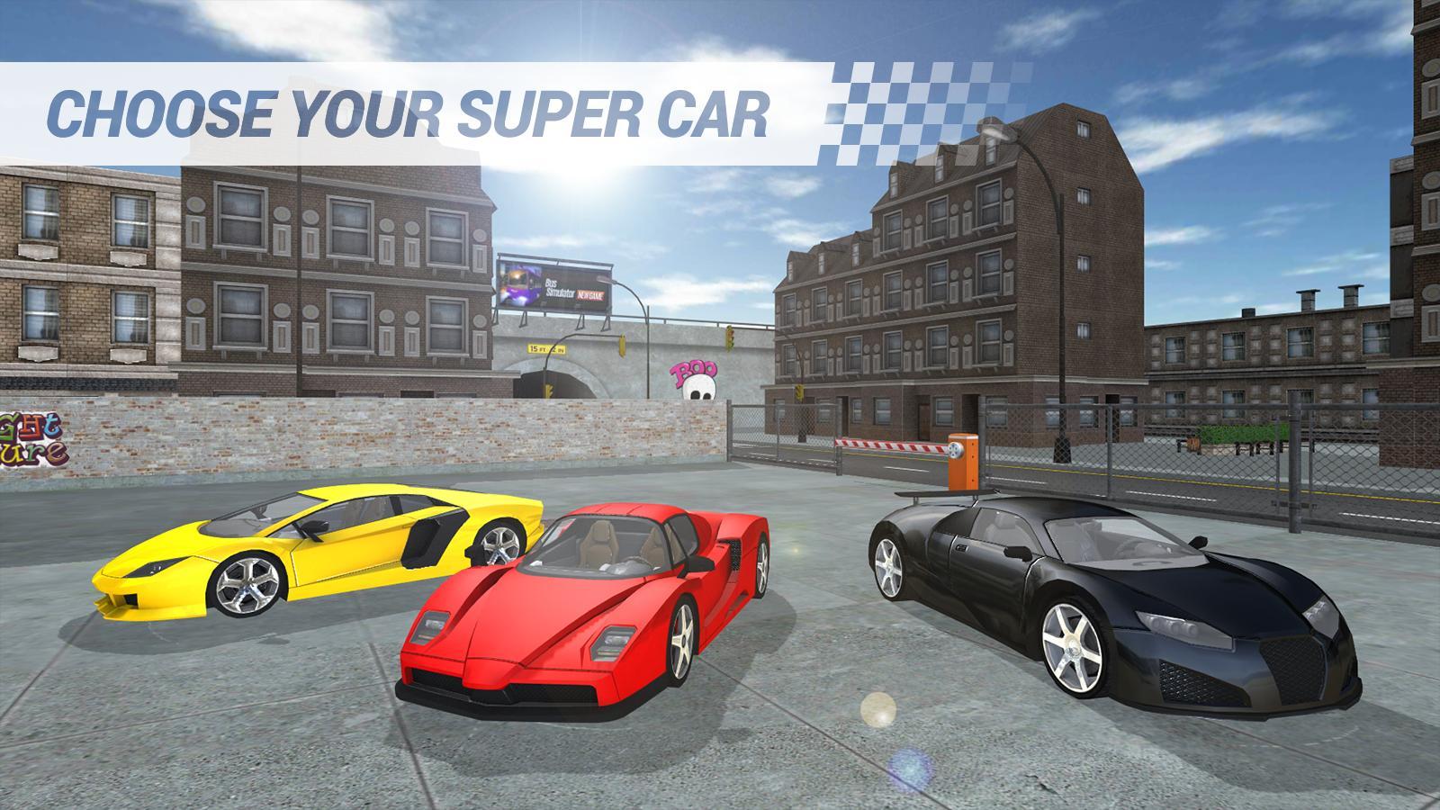 Super Voiture Jeu Pour Android - Téléchargez L'apk destiné Jeux De Super Voiture
