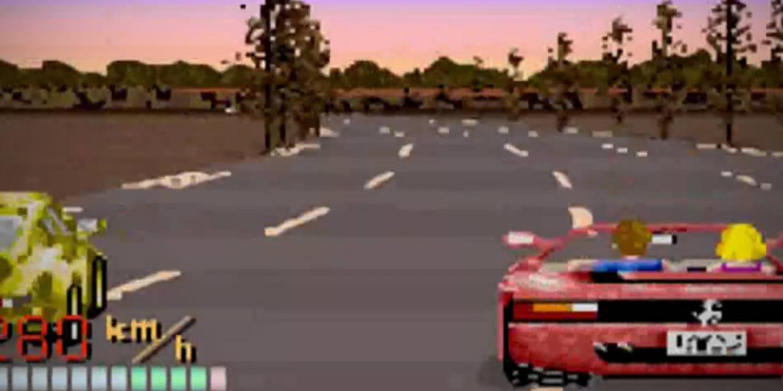 Sur La Piste D'« Outrun », Jeu Vidéo Rétromacho tout Jeux De Voiture Avec Feu Rouge