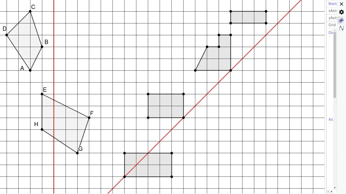 Symetrie Axiale Exercices – Geogebra à Symétrie Axial