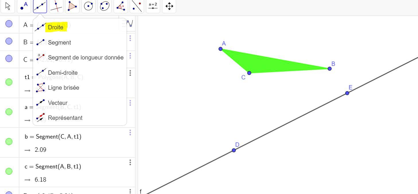 Symétries Axiale Et Centrale Avec Geogebra intérieur Symétrie En Ligne