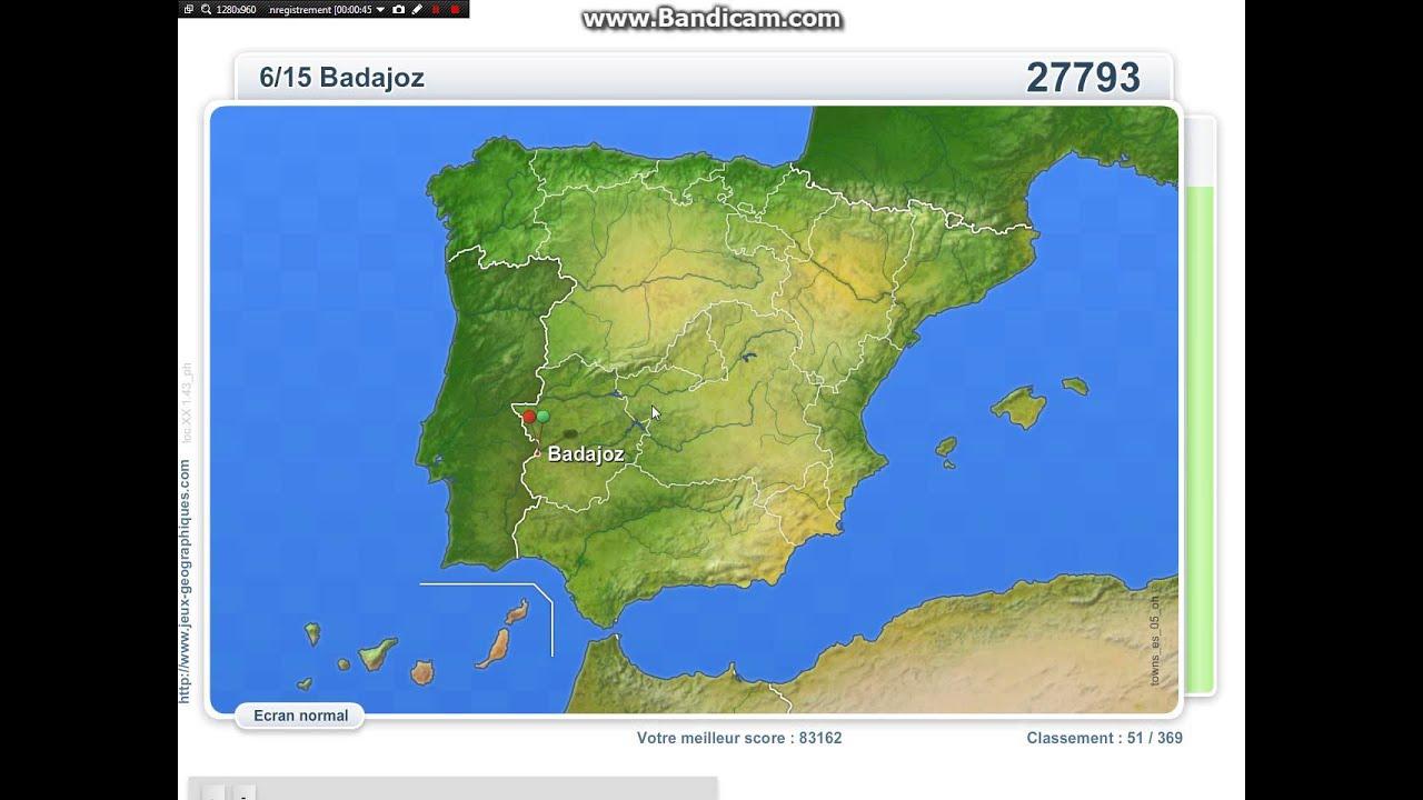 T#1-Villes D'espagne (83 284) tout Jeux Geographie