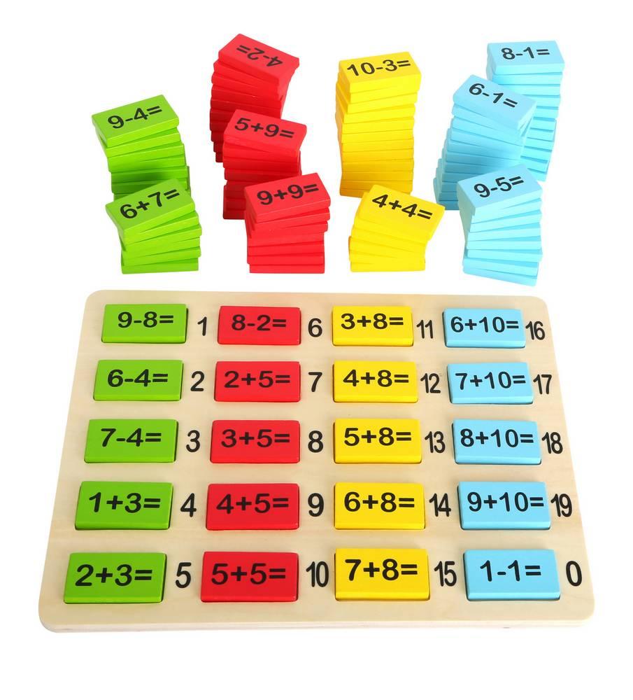 Tableau D'operations destiné Jeux Educatif Table De Multiplication