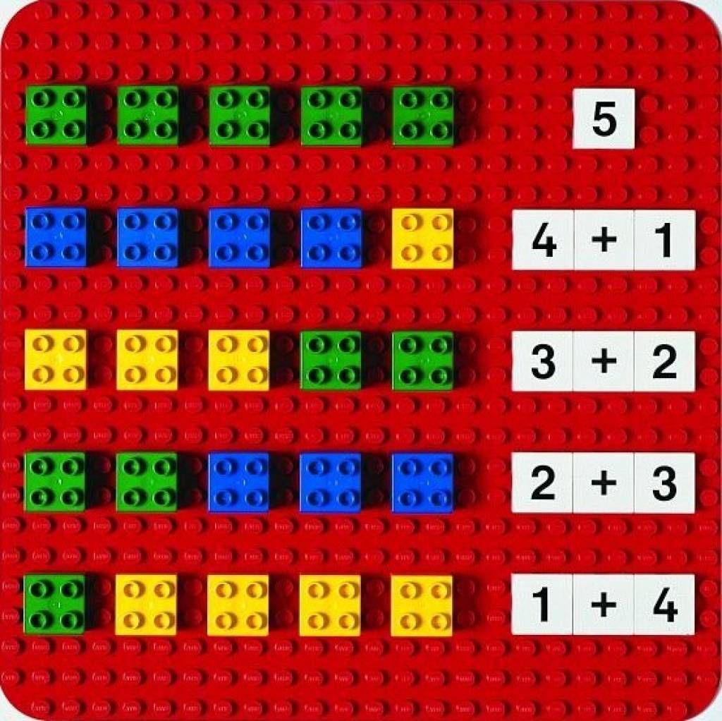 Tableau Mural Lego   Mathématiques À L'école Maternelle tout Apprendre Les Lettres En Jouant