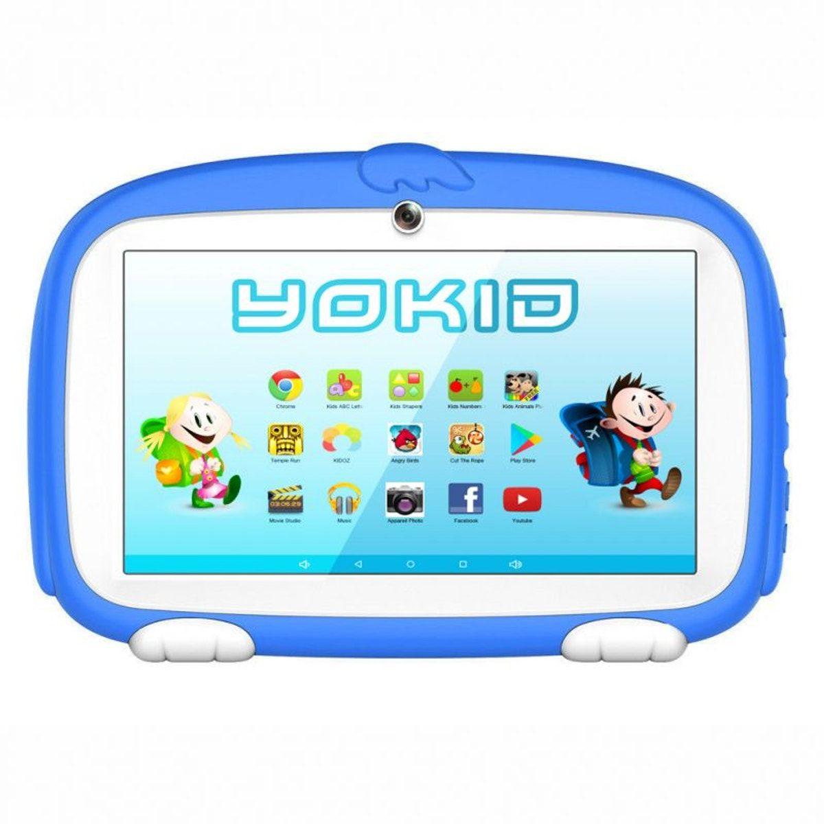 Tablette Educative Enfant 7'' 8 Go Quad Core - Taille avec Tablette Pour Enfant De 4 Ans