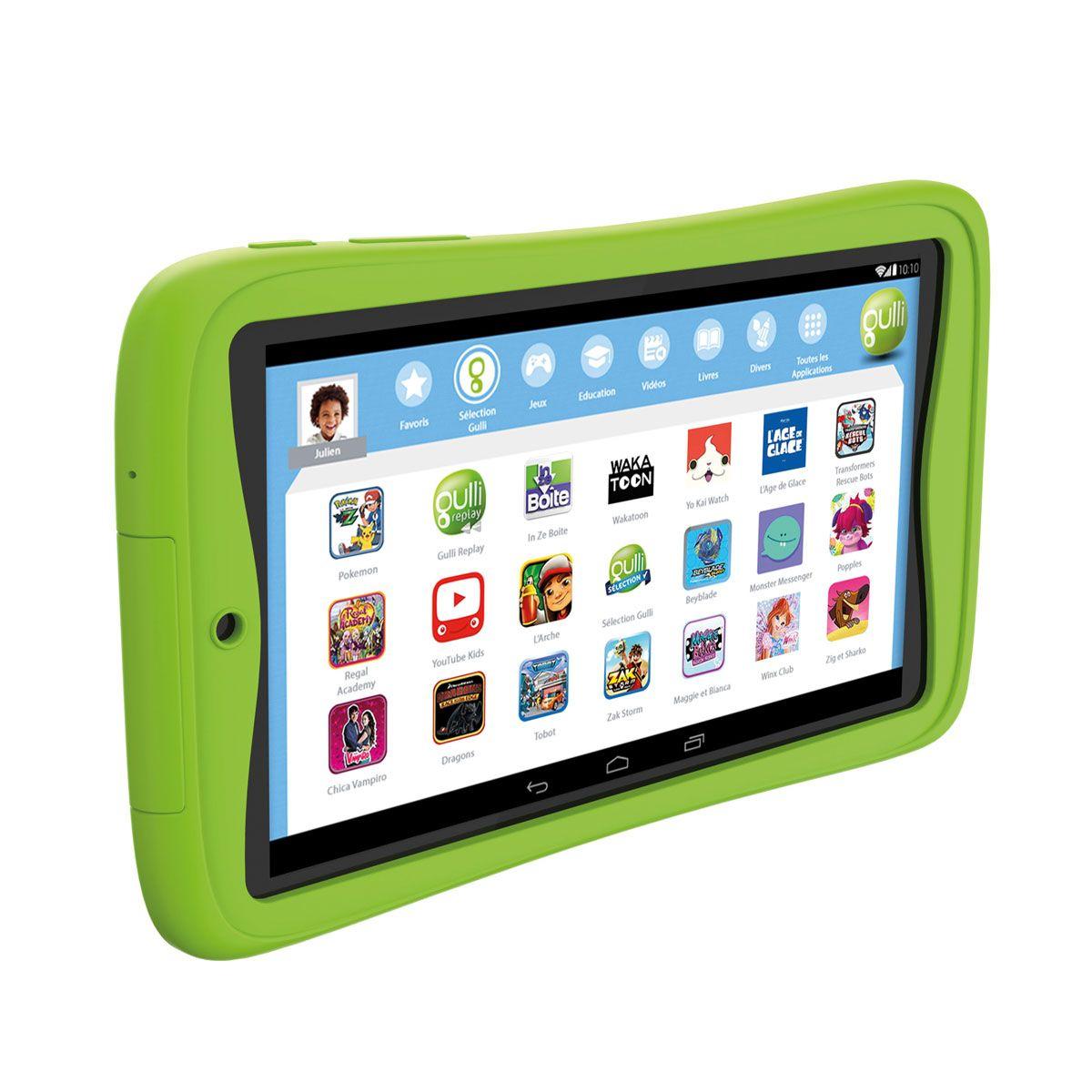 Tablette Gulli V3 Gulli Pour Enfant De 4 Ans À 10 Ans destiné Tablette Jeux 4 Ans