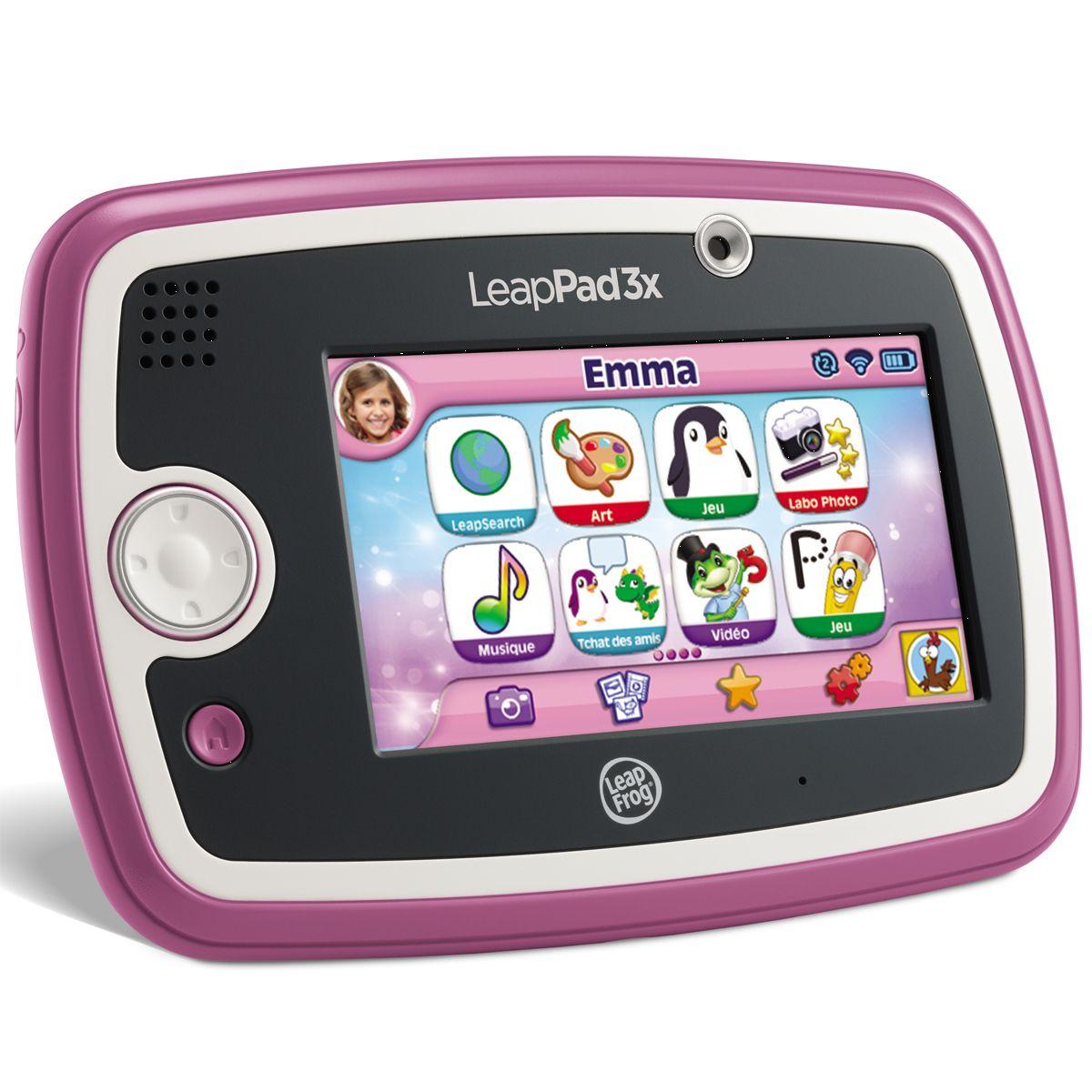 Tablette Tactile Leappad 3X Rose dedans Tablette Jeux 4 Ans