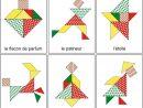 Tangram De Noël : 14 Modèles À Imprimer - Tangram De Noël À concernant Dessin De Noel En Couleur A Imprimer