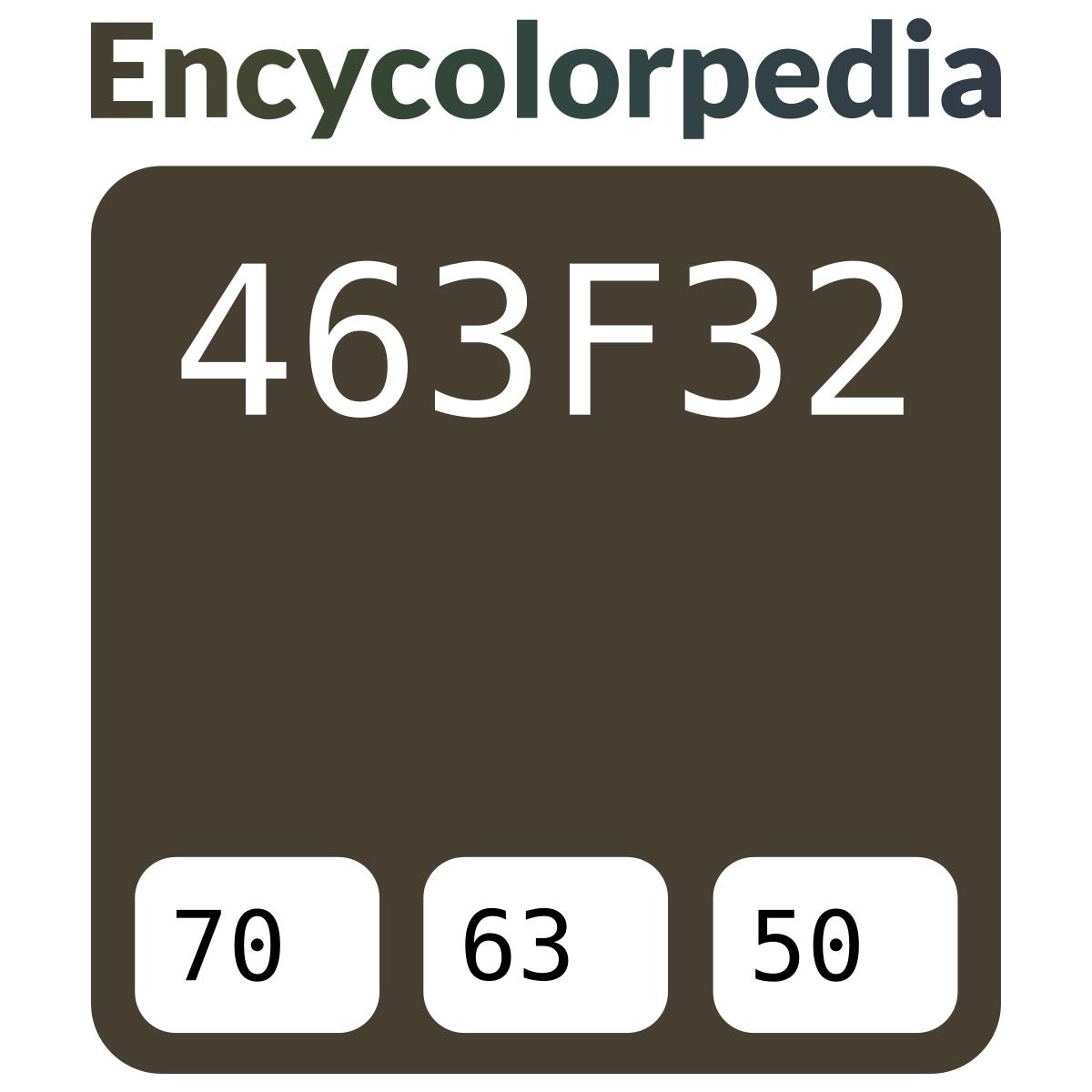 Taupe / #463F32 Schémas De Couleurs Hexadécimal Et Peintures intérieur Code Couleur Taupe