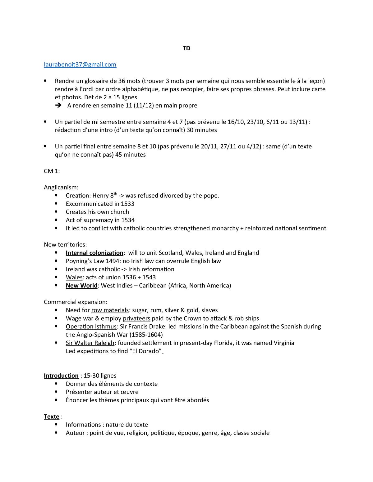 Td Civi - Notes De Cours 1-2 - - Toulouse - Jean Jaurès intérieur Ordi Mots