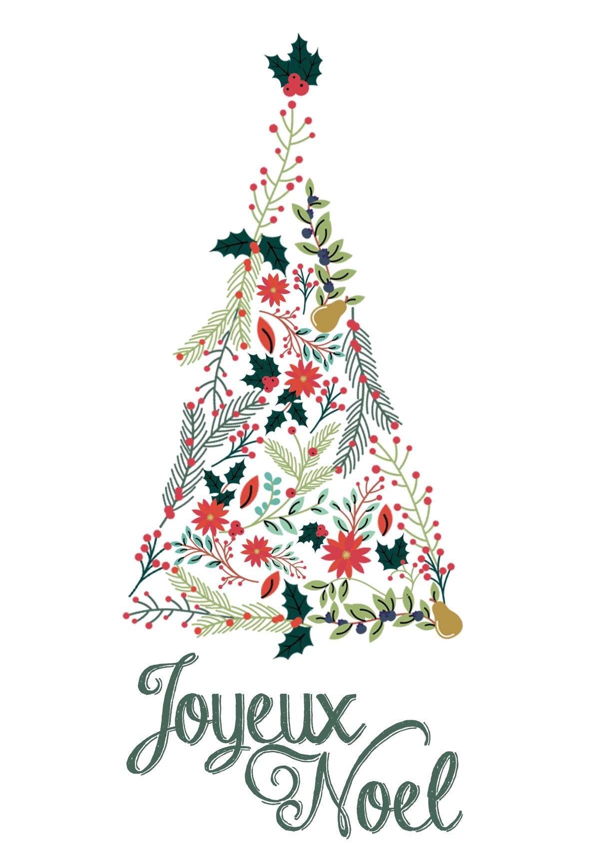 Telechargement De Carte De Noel :: Eddedira.ga tout Carte De Voeux À Télécharger