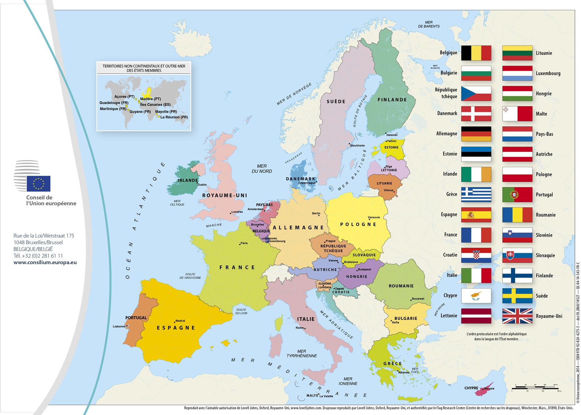 Télécharger 47 Pays De L'europe Pdf | 47 Pays De L'europe pour Pays Membre De L Europe