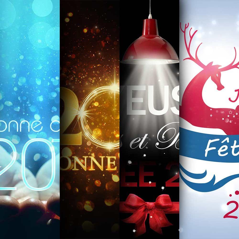 Télécharger Des Cartes De Vœux 2017 | Voss Bottle, Photoshop concernant Carte De Voeux À Télécharger