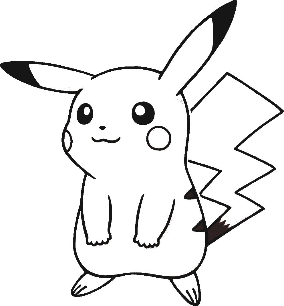 Télécharger Dessins & Arts Divers Coloriage Pokemon-Pikachu tout Dessins Gratuits À Télécharger