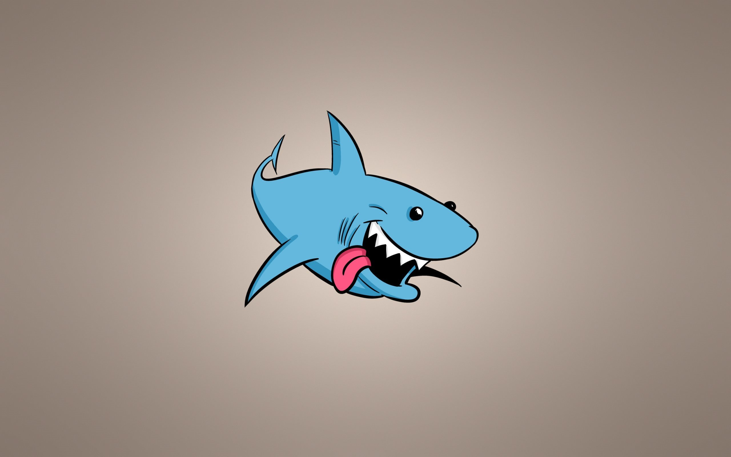 Télécharger Fonds D'écran Le Requin Bleu, Le Minimalisme, Le serapportantà Requin Souris