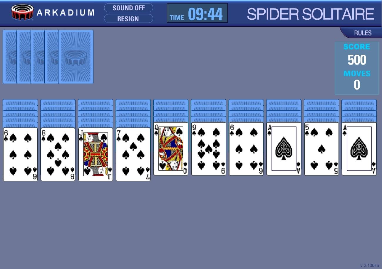Telecharger Jeux De Cartes Spider Solitaire Gratuit Francais encequiconcerne Jeux De Cartes Gratuits À Télécharger En Français