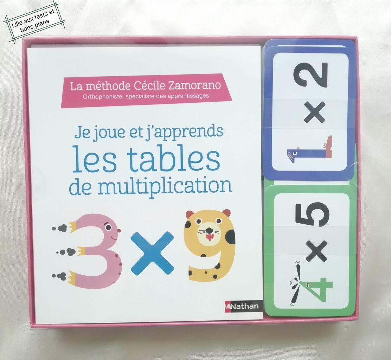 Test Coffret Livre Et Cartes De Jeu Pour Apprendre Les dedans Apprendre La Table De Multiplication En Jouant