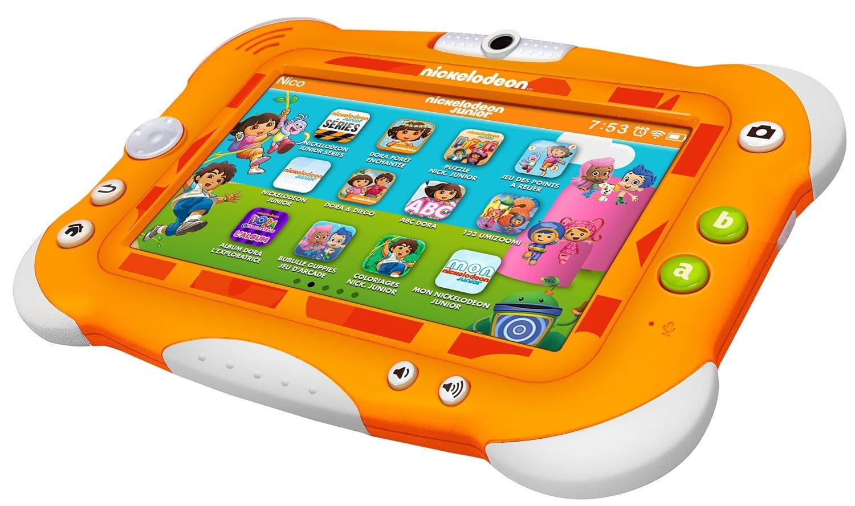 Test De La Tablette Nickelodeon Pour Enfants – Guide Du encequiconcerne Tablette Pour Enfant De 4 Ans