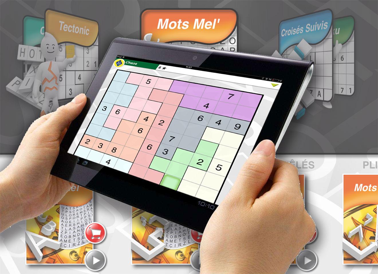 Test De L'application Ios Mots Fléchés - Mister Ipad destiné Telecharger Jeux Mots Fleches Gratuit