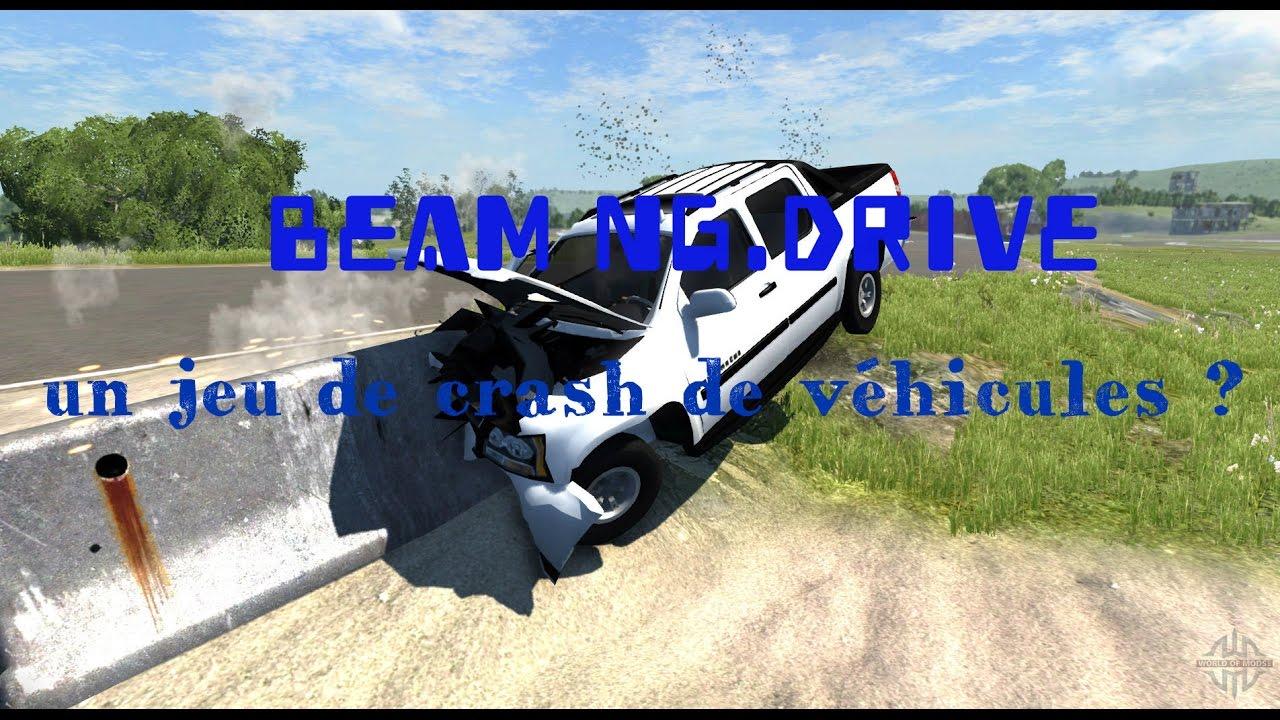 Test D'un Jeux D'accident De Vehicules Le Plus Beau #beam Ng.drive dedans Jeux De Accident De Voiture