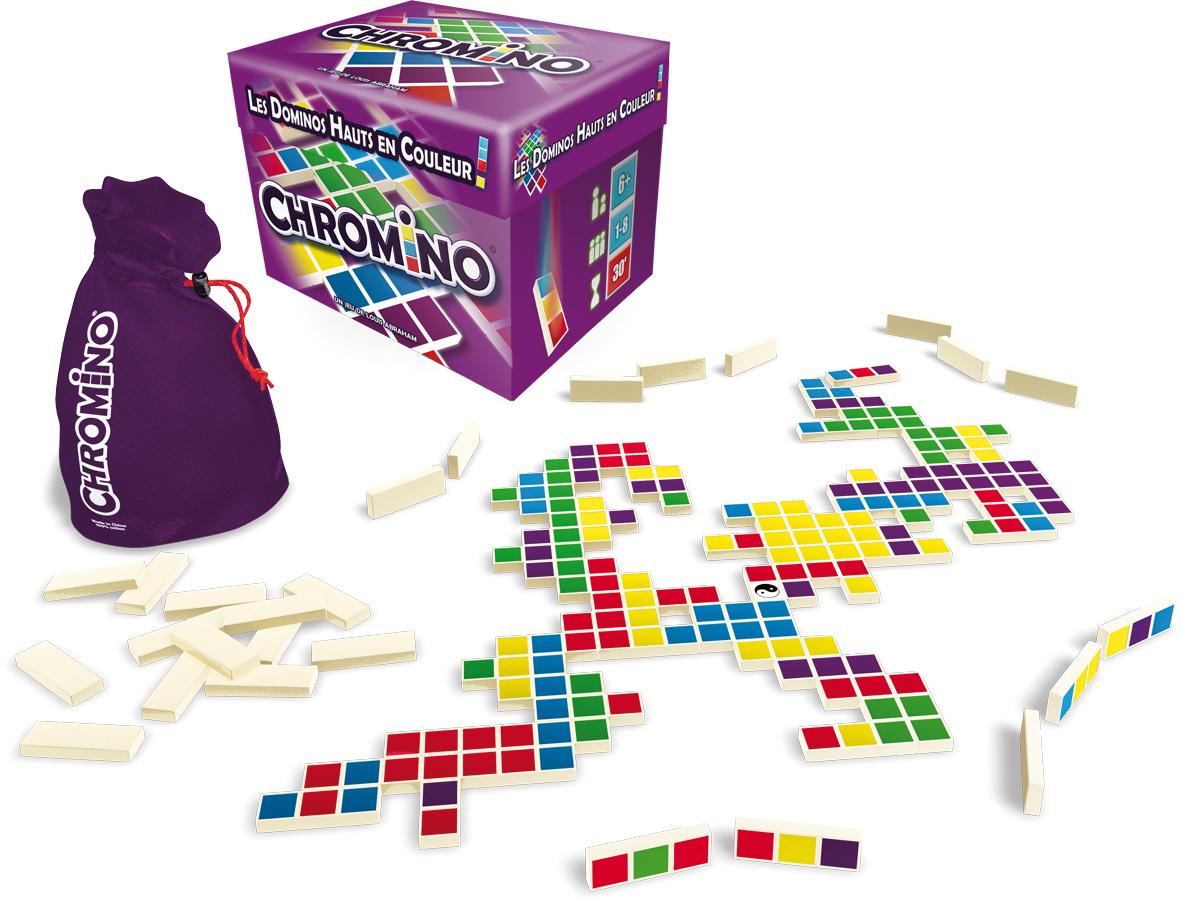 Test Jeu : Chromino, Des Dominos, Des Couleurs, Du Fun encequiconcerne Jeu Du Domino