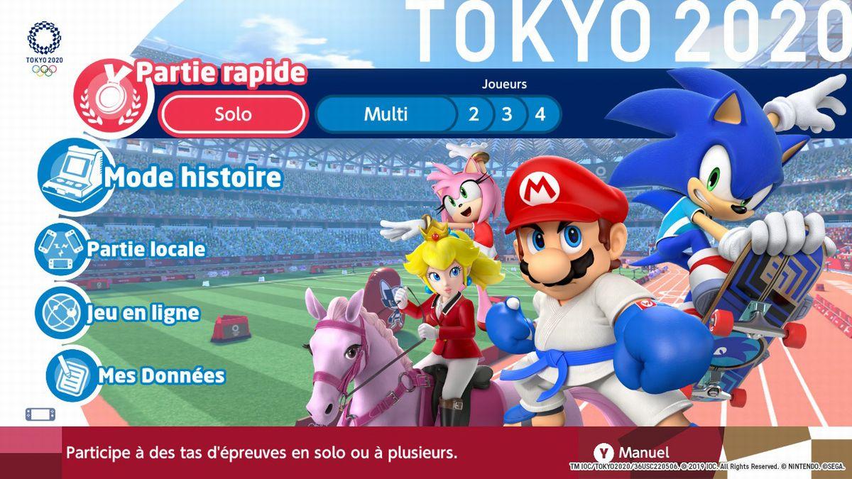 Test Mario & Sonic Aux Jo De Tokyo 2020 : Un Hit De Plus destiné Jeux À Plusieurs En Ligne