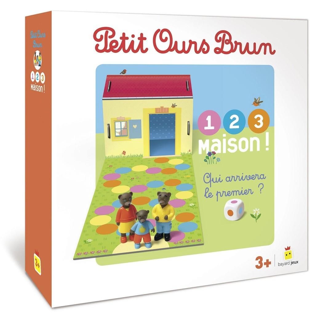 Test - Petit Ours Brun 1, 2, 3 Maison ! – Plateau Marmots concernant Jeux Educatif 2 Ans Et Demi