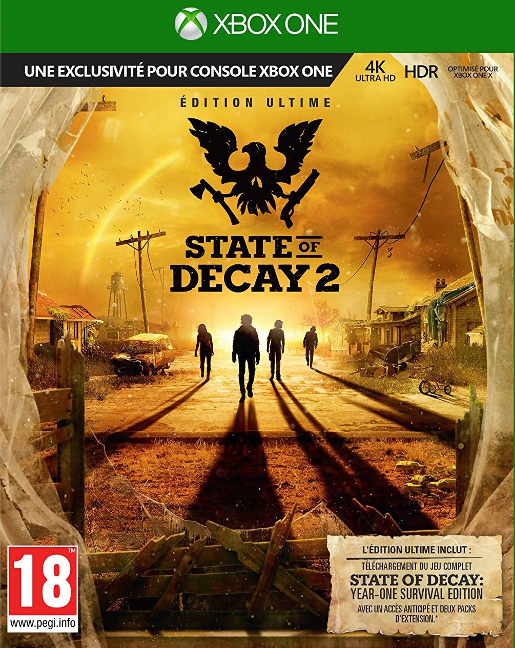 Test State Of Decay 2 : Une Exclu Microsoft Plutôt Morte Que concernant Jeux De Tir 2