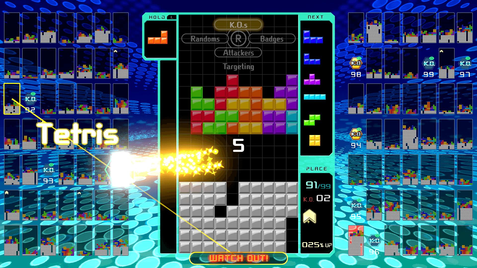 Tetris 99 : Un Mode Multijoueur Hors Ligne Et Une Édition serapportantà Jouer Au Casse Brique