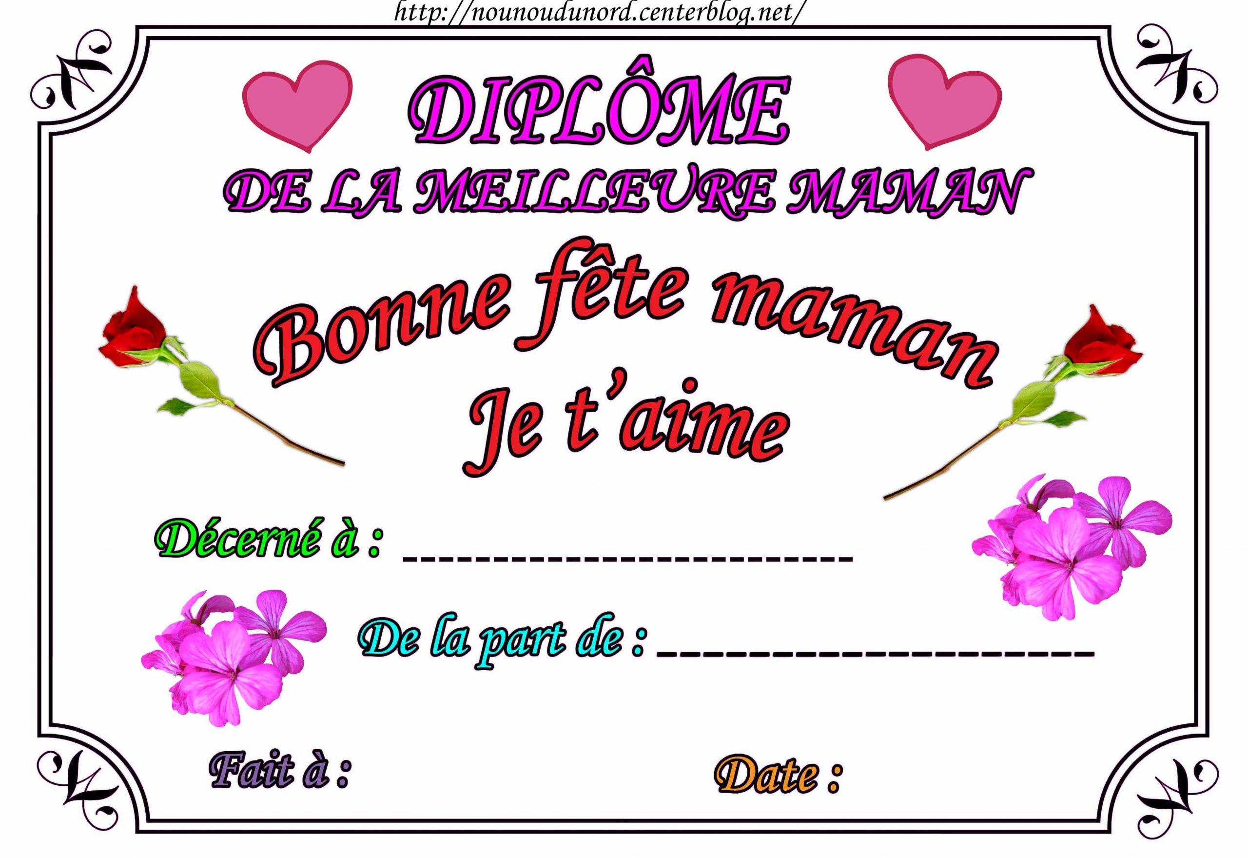 Texte D'anniversaire Pour Maman Gratuit Inspirational à Carte Bonne Fete Maman A Imprimer