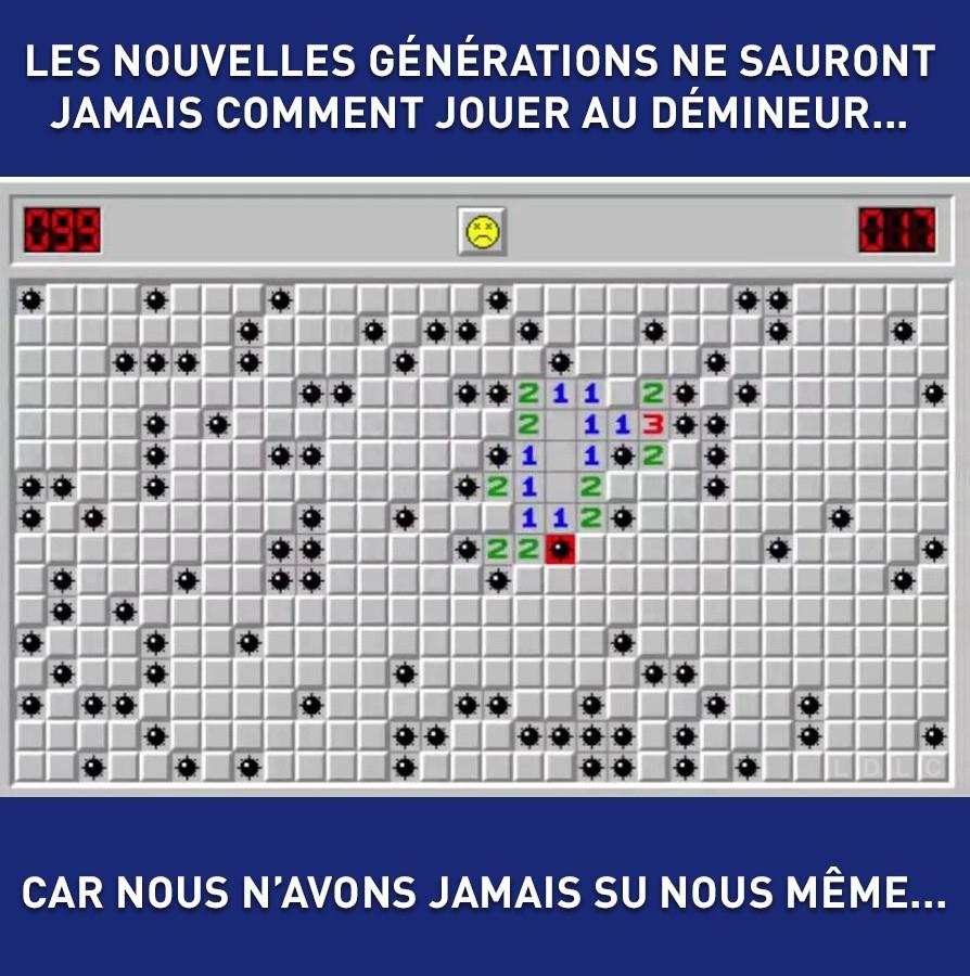 The Best Demineur Memes :) Memedroid dedans Jeu Démineur