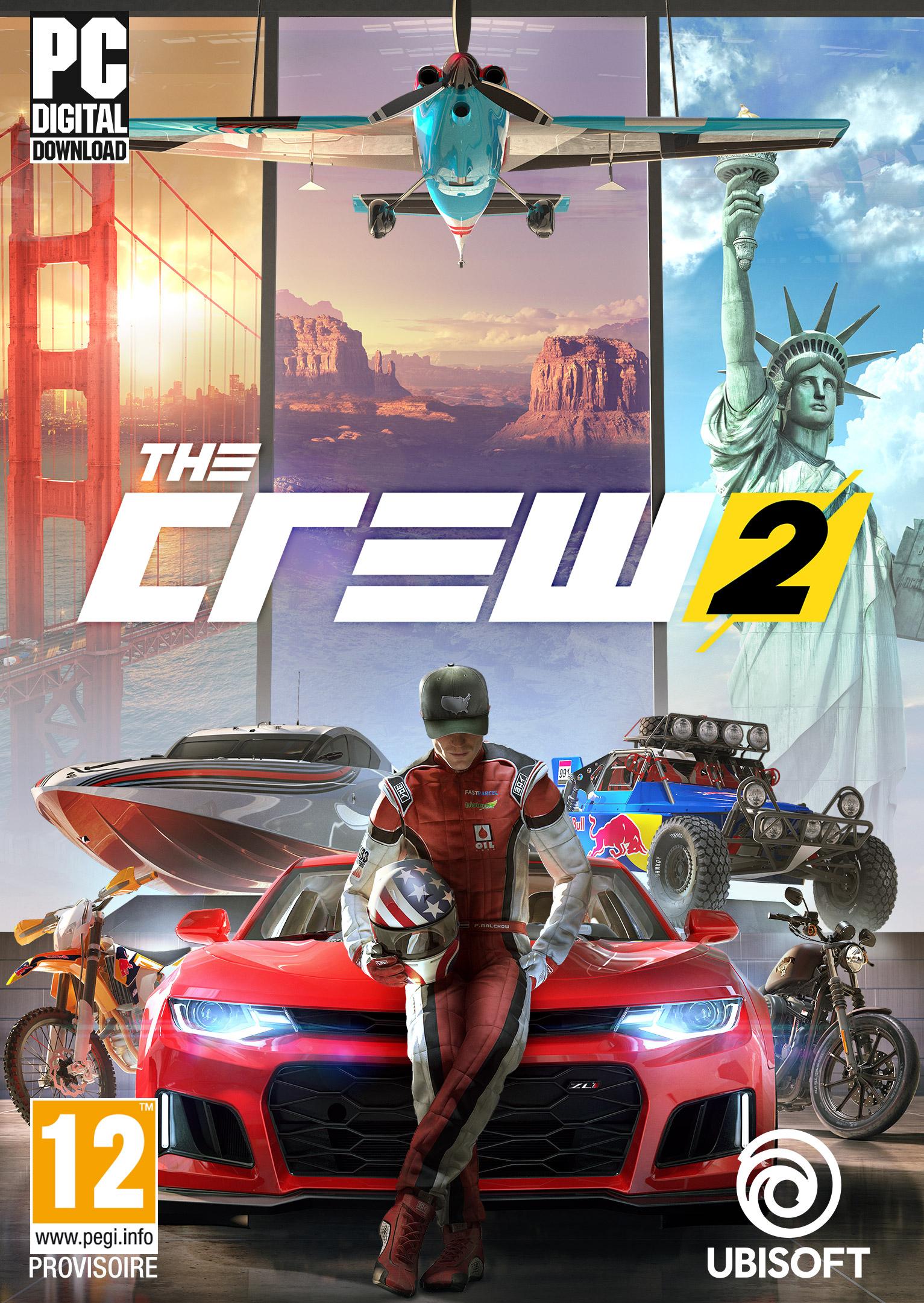 The Crew 2 - Jeuxvideo avec Jeux De Voiture Qui Joue À 2
