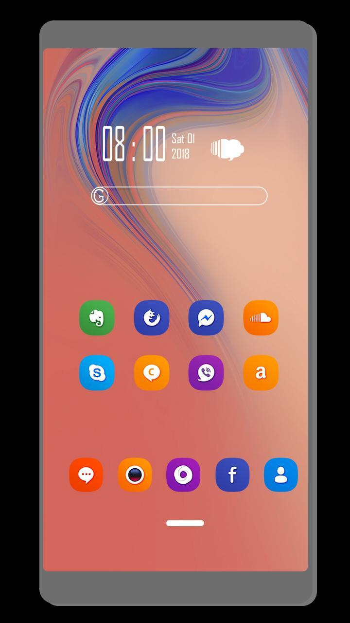 Theme For Samsung Galaxy A10 Pour Android - Téléchargez L'apk à A10 Jeux Gratuit
