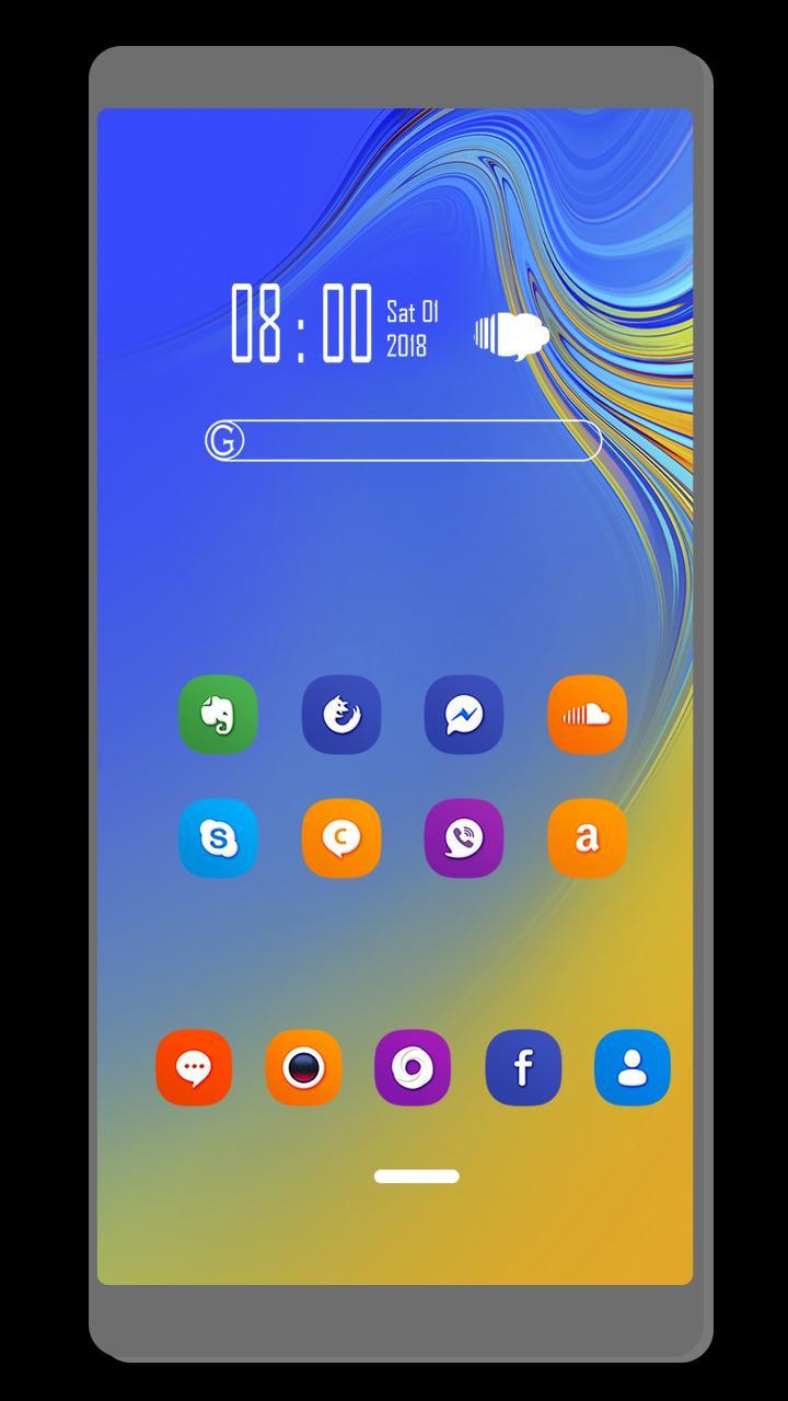 Theme For Samsung Galaxy A10 Pour Android - Téléchargez L'apk avec A10 Jeux Gratuit