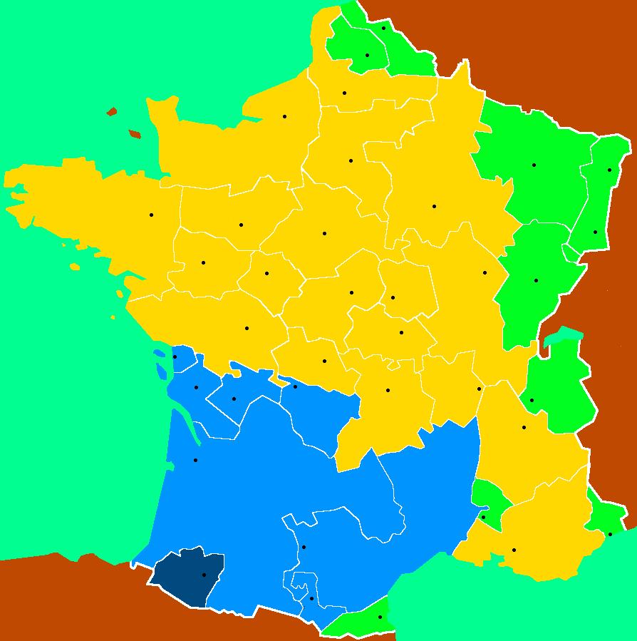 """Théonomie Appliquée : Le """"Règlement"""" Des Provinces-Unies Du destiné Carte Anciennes Provinces Françaises"""
