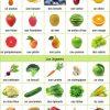 Tics En Fle: Fruits Et Légumes: Vocabulaire, Expressions encequiconcerne Nom De Legume