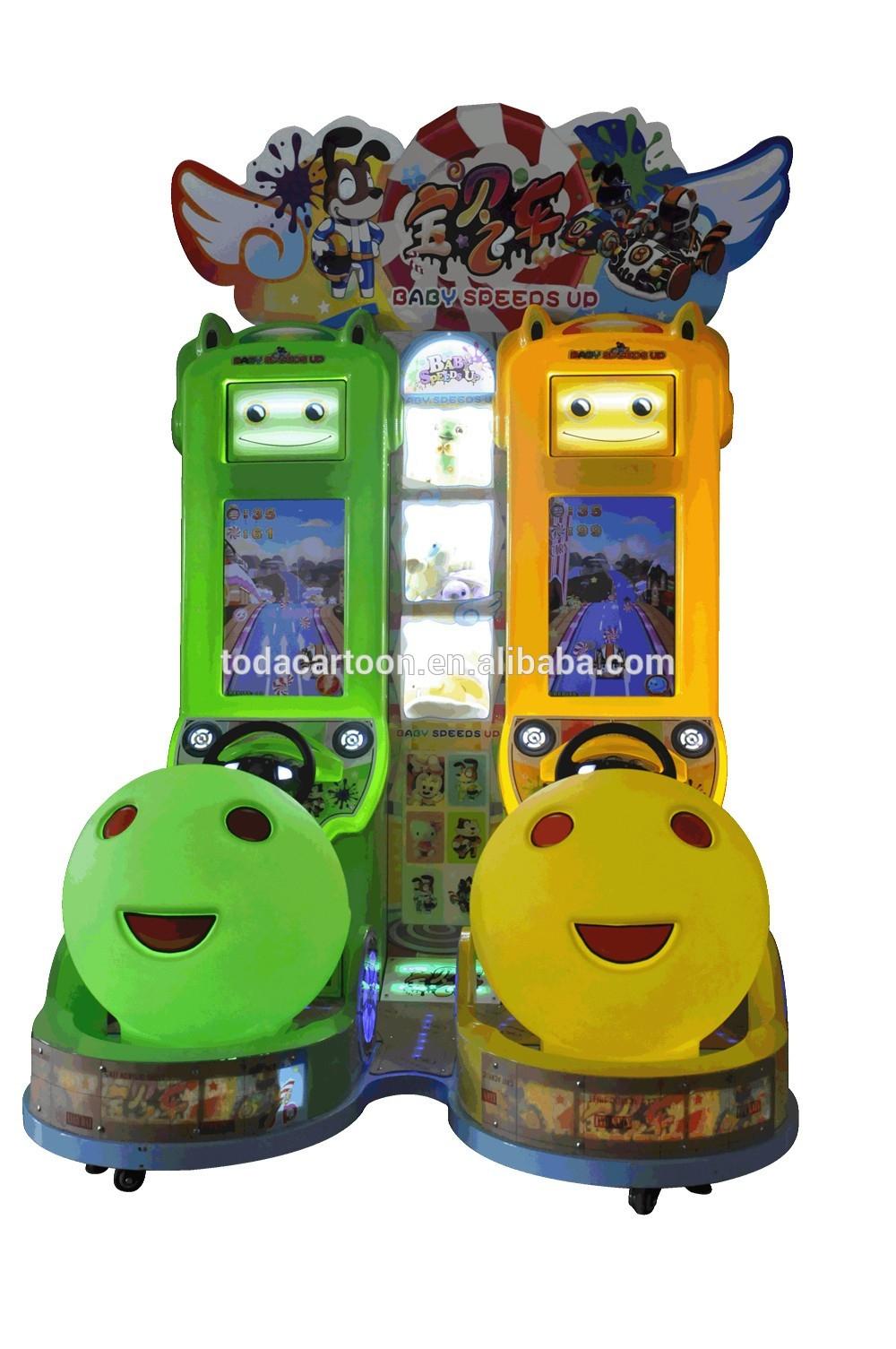 Toda Enfants Machine De Jeu Bébé Simulateur De Course D'arcade Gratuit  Jouer En Ligne Moteur Enfants Jeux De Voiture Pour Les Garçons Vente - Buy avec Jeux De Voiture Pour Bébé